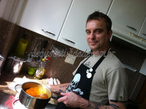 Chef Sandro Penha – Almoço Indiano/Vegano