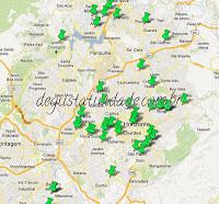 Mapa da Comida di Buteco 2013