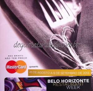 Restaurant Week BH – 2013 – 7a. Edição