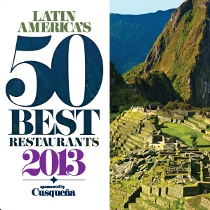 50 Melhores Restaurantes da América Latina – 2013