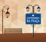 Gastronomia na Praça