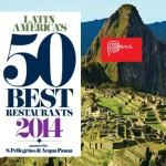 50 Melhores Restaurantes da América Latina – 2014