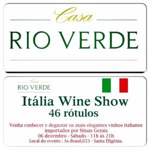 Casa Rio Verde – ITÁLIA WINE SHOW