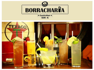 Borracharia Gastrobar – Nova marca e Drinks Spiral