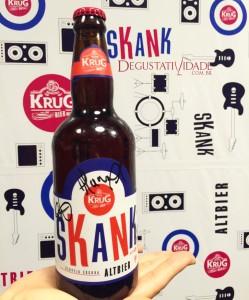 Krug Bier lança cerveja Skank