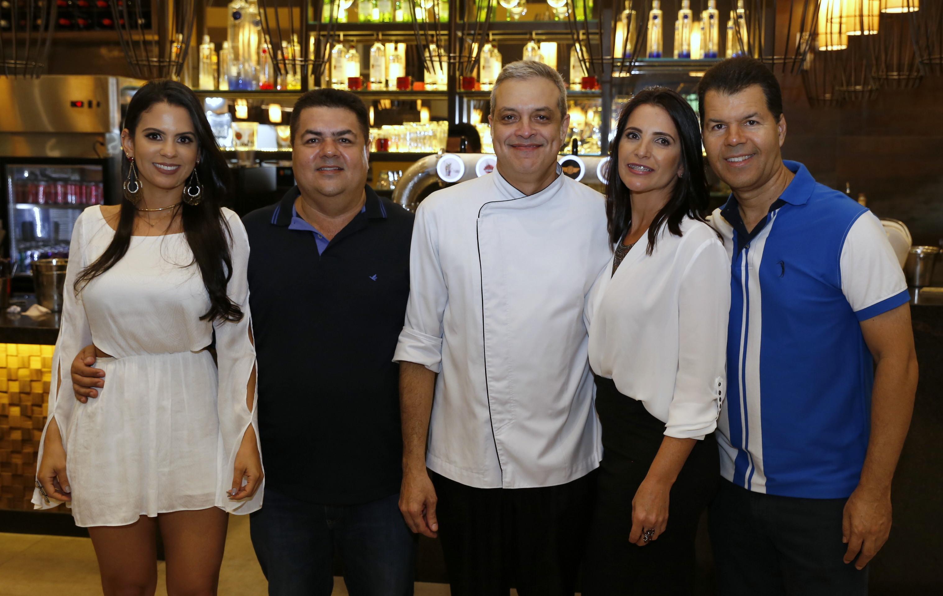 Paloma Matos, Cláudio Ramos, Cláudio Santiago, Gabriela Aguiar, Belmar Ramos - (Edy Fernandes)