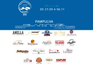 Circuito Gastronômico da Pampulha 2016 – BH