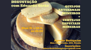 Curso de queijos com Eduardo Girão no Agosto Butiquim