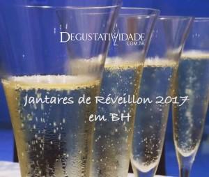Jantares de Réveillon 2017 em BH