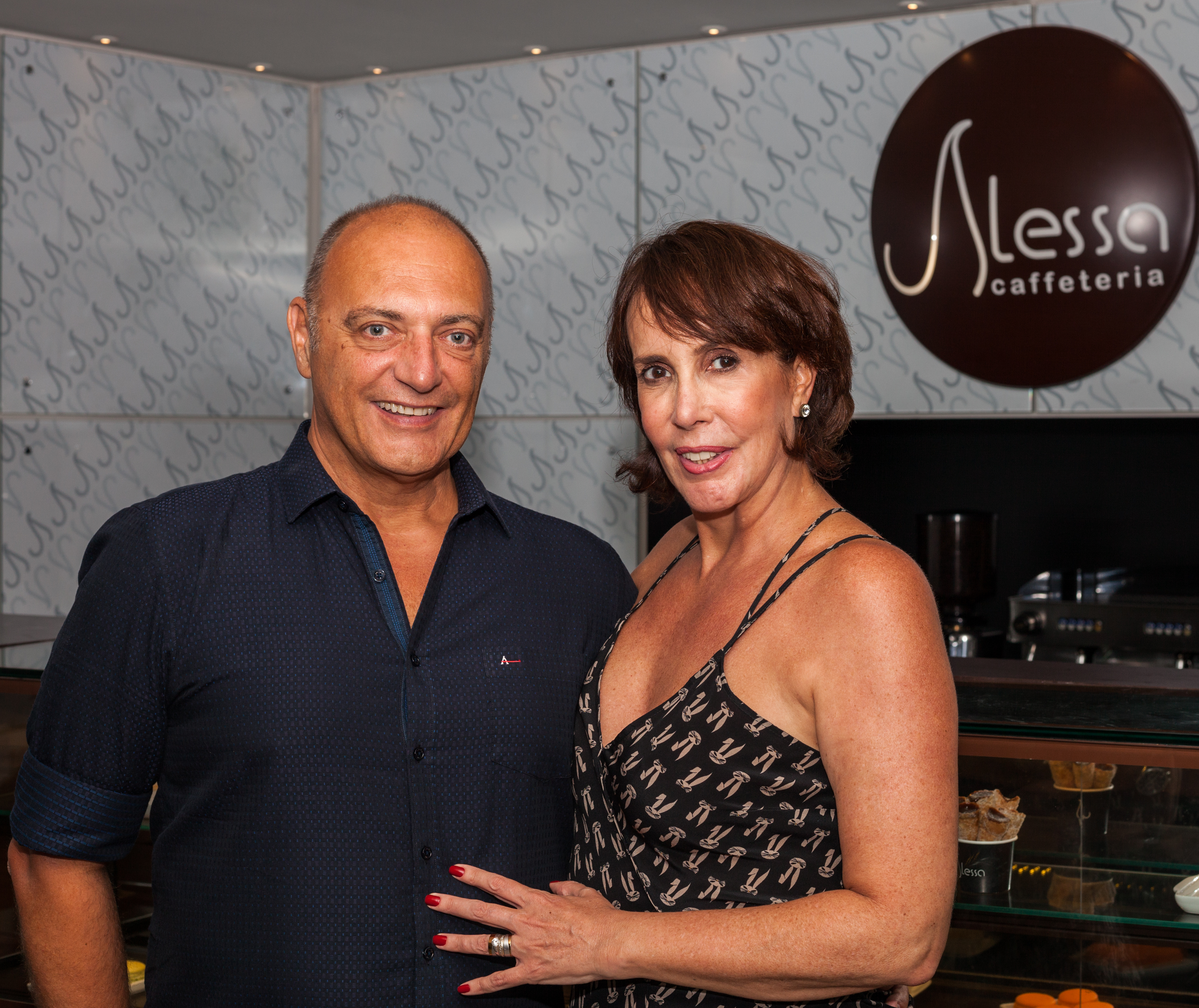 Andréa Manetta e Francisco Terroba