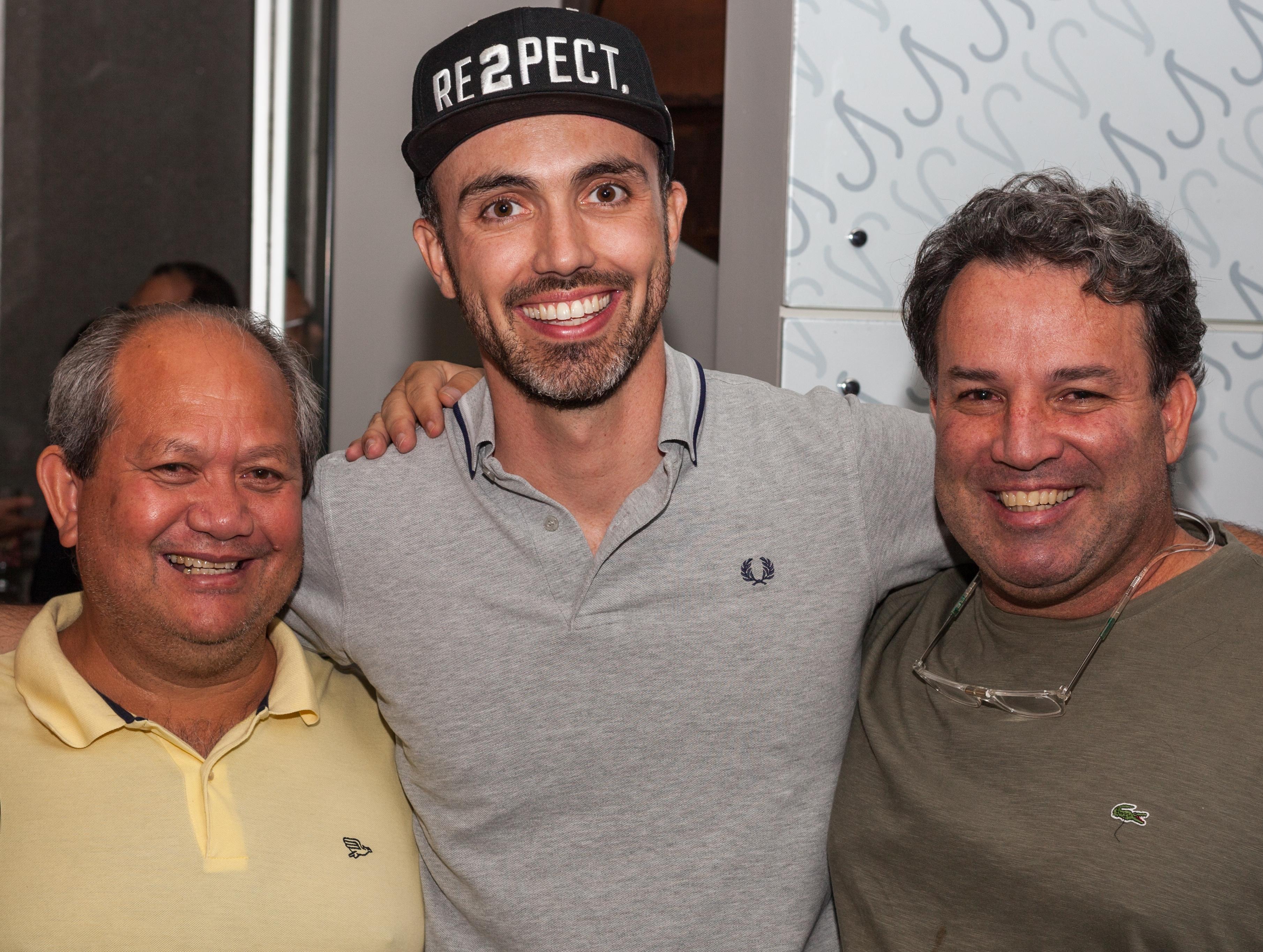 Hendres Almeida, Leonardo Paixão e Flávio Trombino