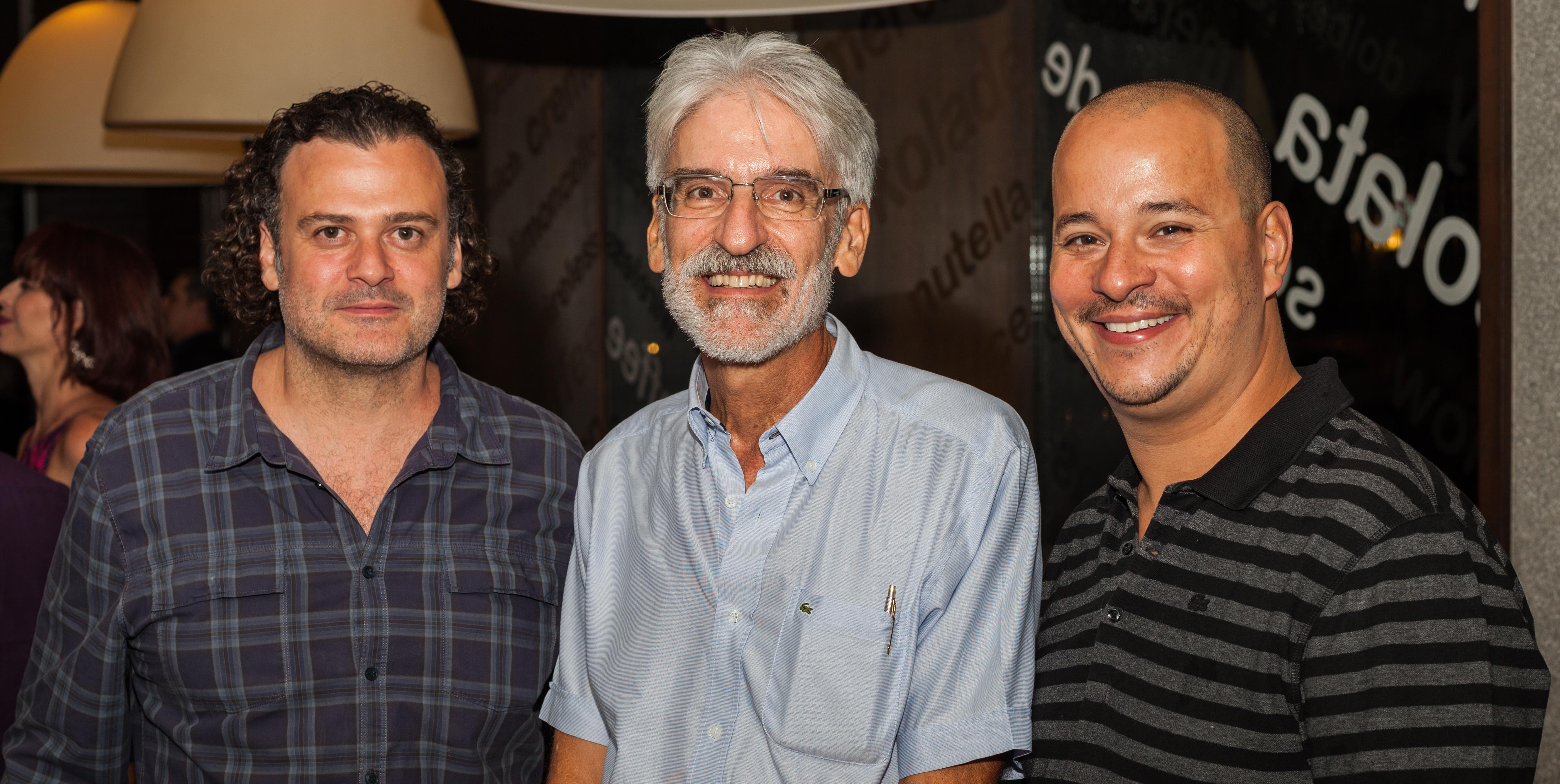 Paulo Vasconcellos, Rodrigo Fonseca e Caetano Sobrinho