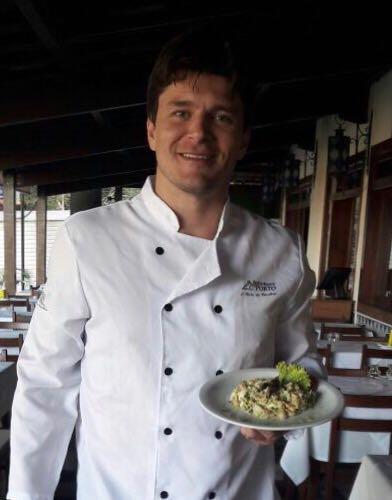 Proprietario e chef do R.Porto Leonardo Duarte