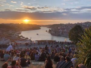 Por do sol em Porto – Portugal