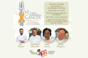 Chefs Contra o Câncer – CAPE – 6a. edição